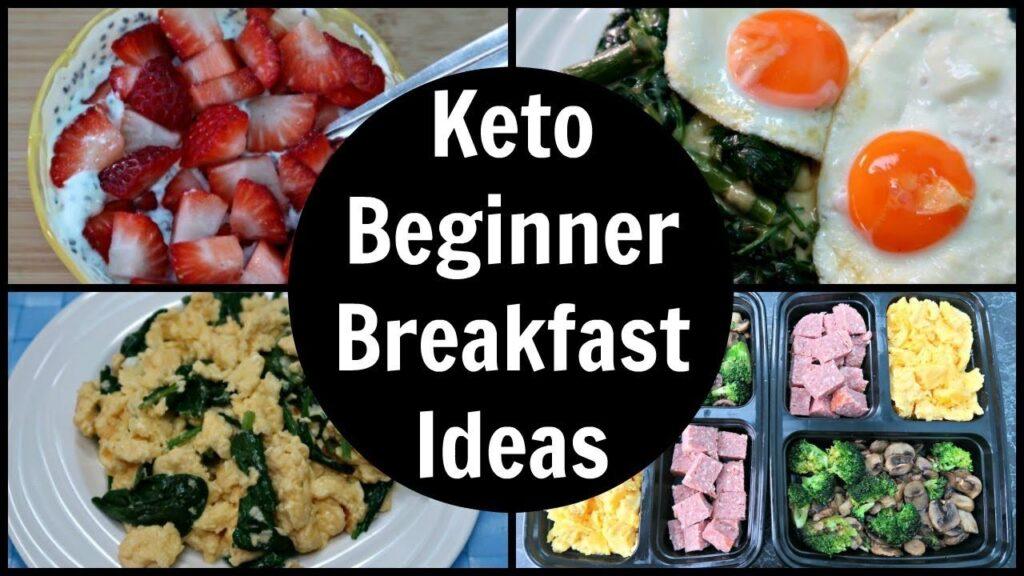keto diet breakfast foods