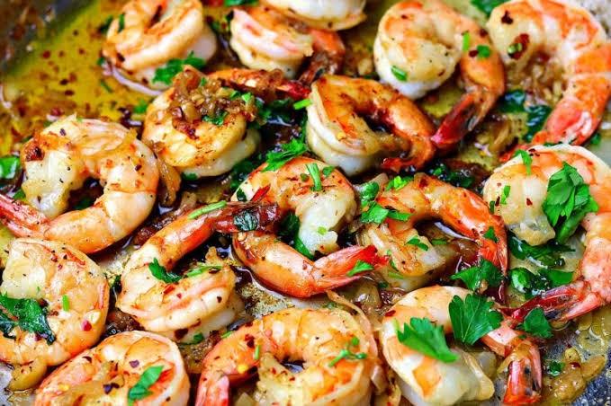 Keto-shrimp-scampi