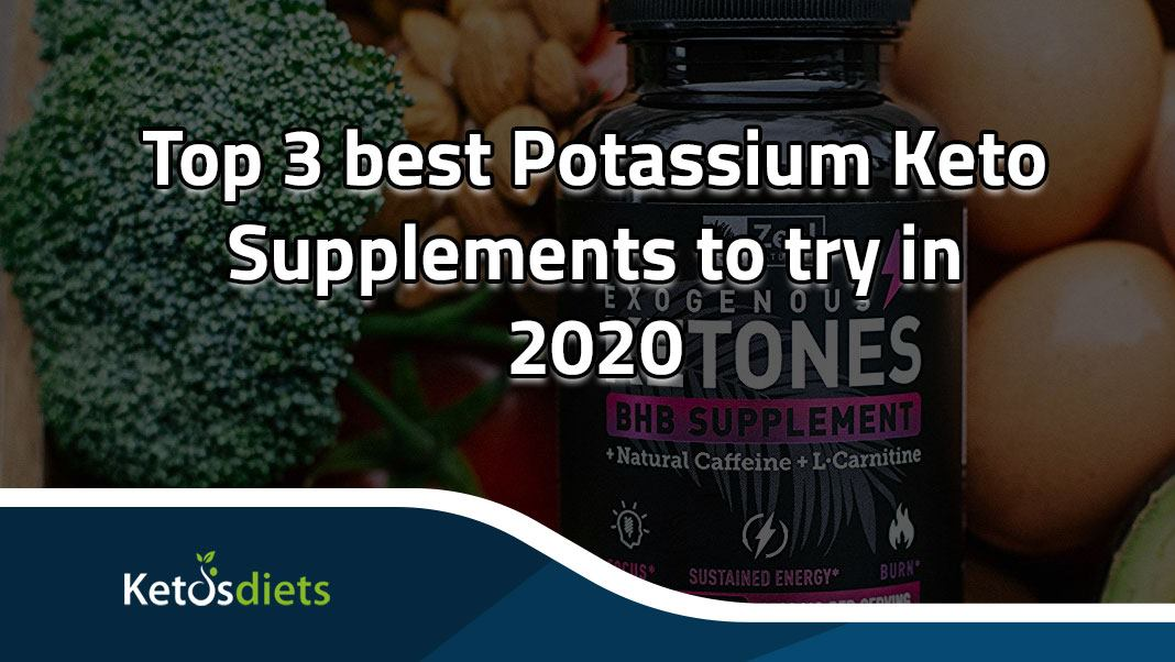 potassium Keto supplements