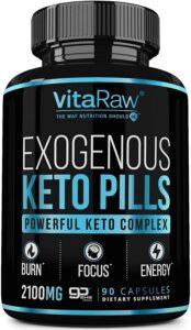 VitaRaw exogenous keto pills